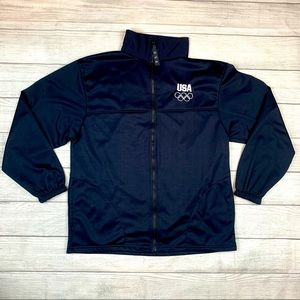 USA Olympic Committee Embroidered Track Jacket